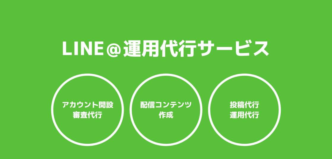 LINE@運用代行サービス