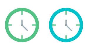 店舗・クリニックの営業時間帯に合わせた順位取得時間の指定